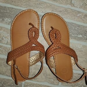 3 for $10 Tan sandals